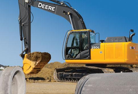 Escavadeira 250G LC da John Deere