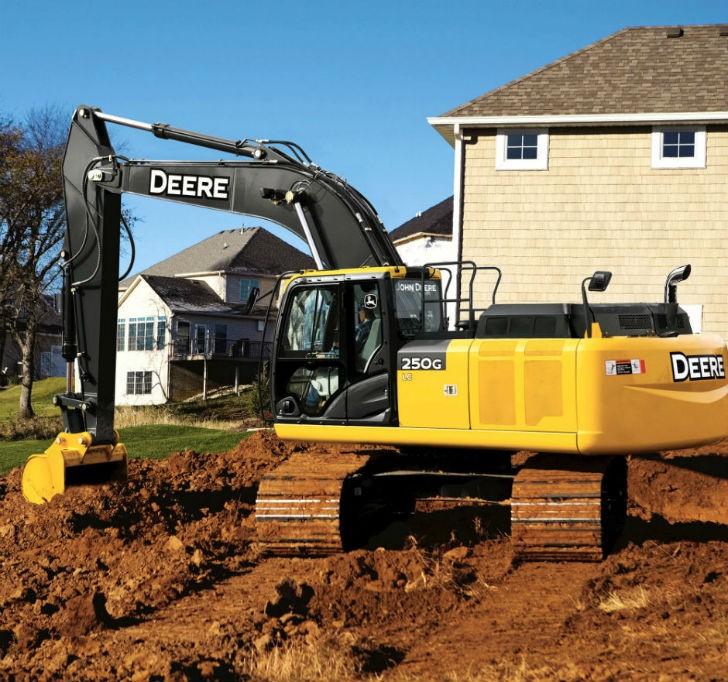John Deere Announces Newly Upgraded Excavators