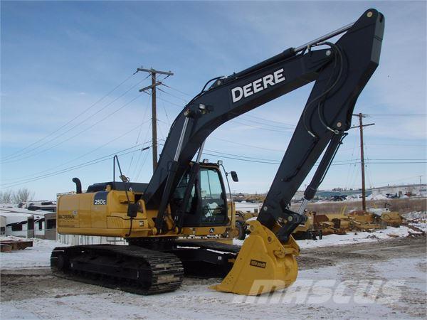 Used John Deere 250G LC crawler excavators Year: 2014 ...