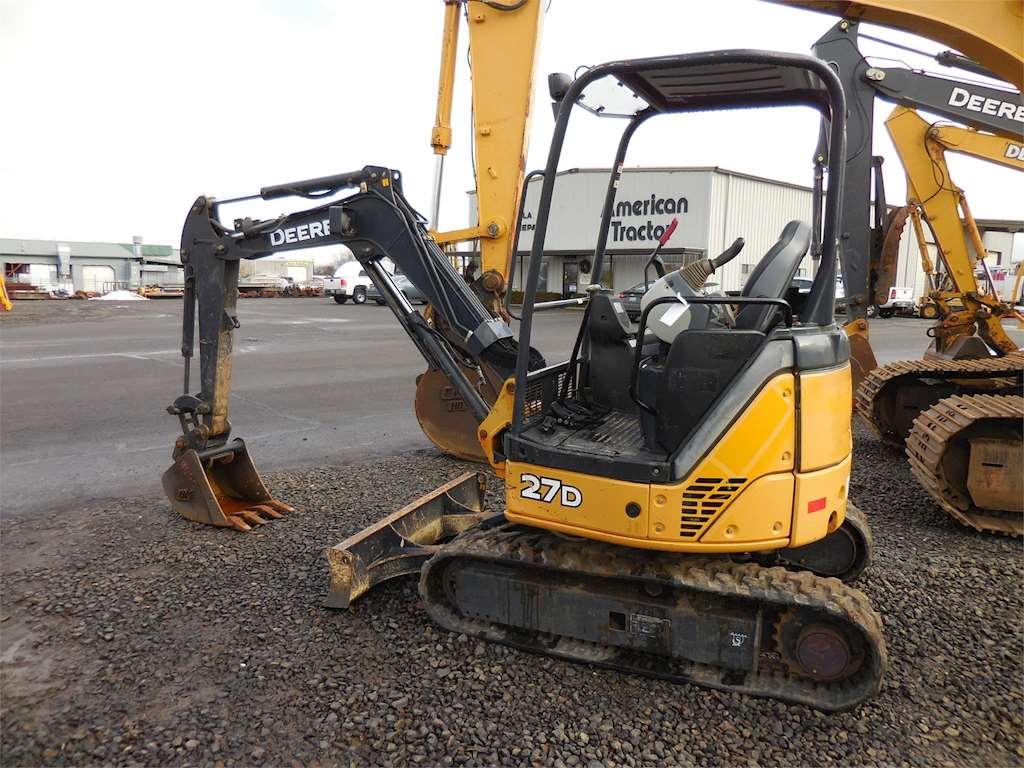 2012 John Deere 27D Mini Excavator For Sale, 1,075 Hours ...