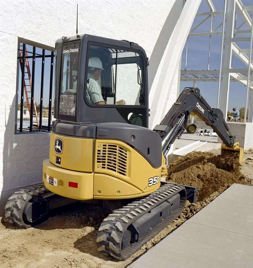 D-Series Compact Excavators Deliver Productivity Boost ...