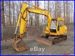 John Deere 70D Midi Excavator Hydraulic Thumb 30 Bucket ...