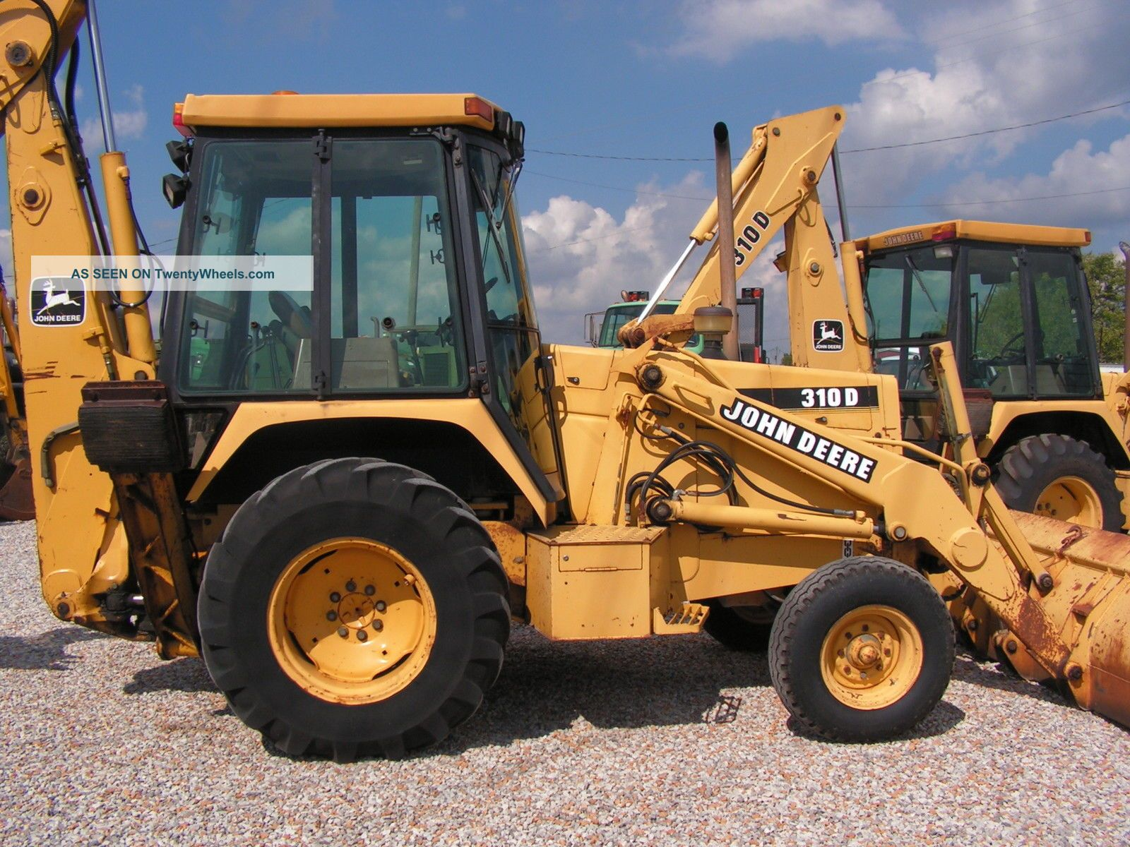 John Deere 310-B Backhoe Loaders - John Deere MachineFinder