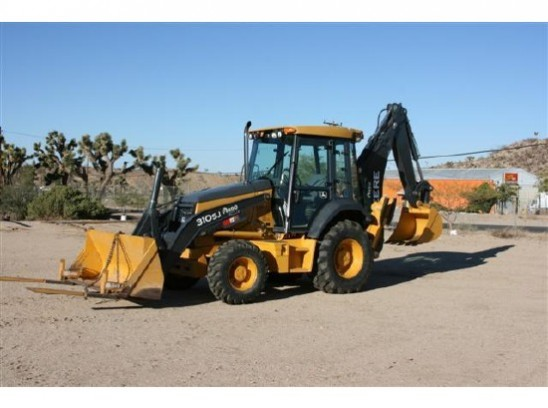 iOffer Auctions | 2008 John Deere 310 SJ Backhoe