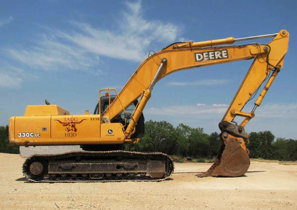 TransAmerican Underground | John Deere 330 Excavator
