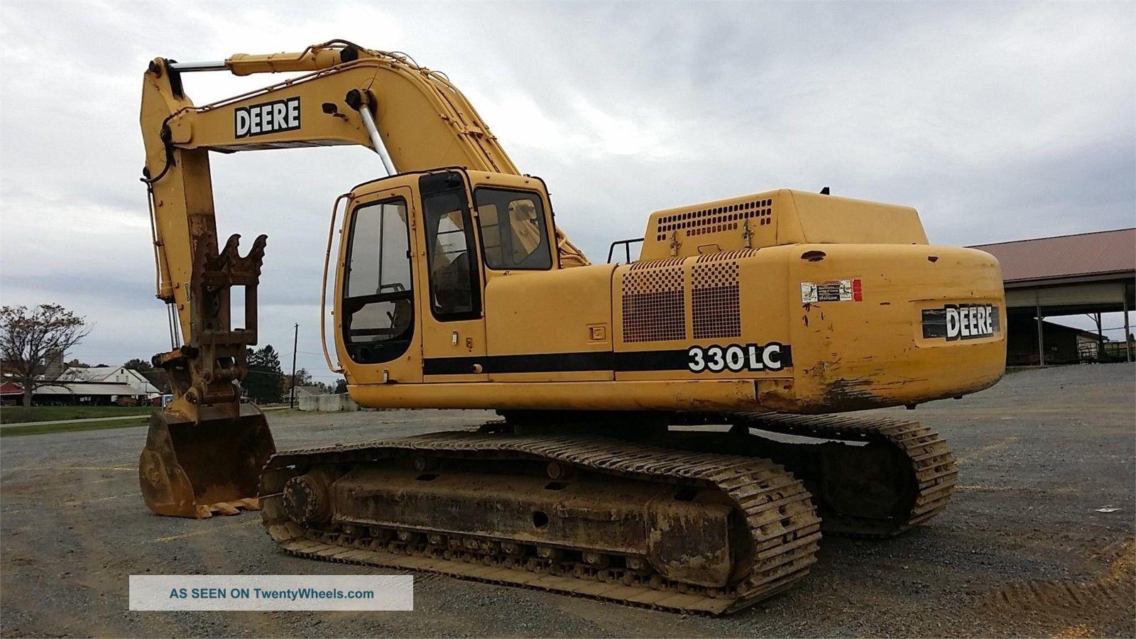 2000 John Deere 330 Lc Hydraulic Construction Excavator ...