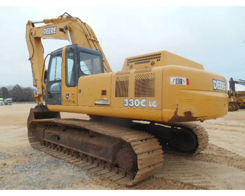2002 John Deere 330c Lc Excavator