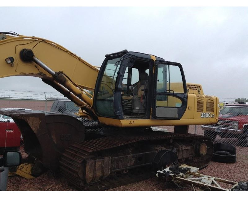 2004 John Deere 330C LC Excavator For Sale - Sioux Falls ...