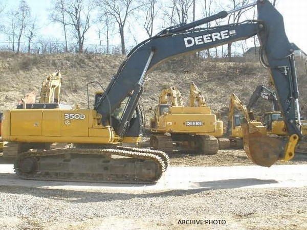 John Deere 350 crawler excavator from Germany for sale at ...