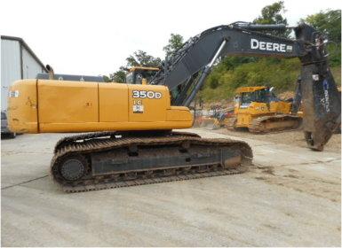 JOHN DEERE 350D LC Excavator For Sale & Rental - New ...