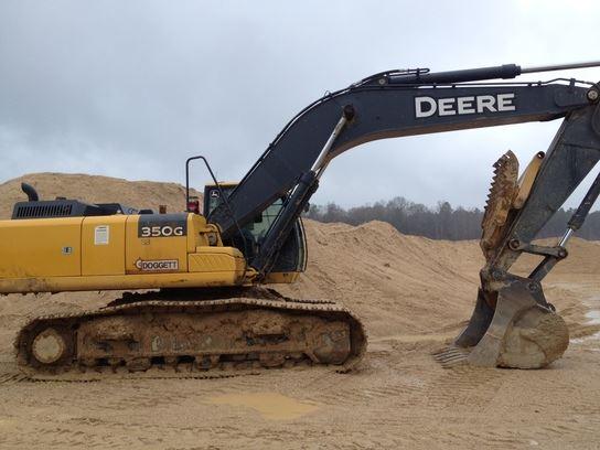 John Deere 350G - Year: 2013 - Crawler excavators - ID ...