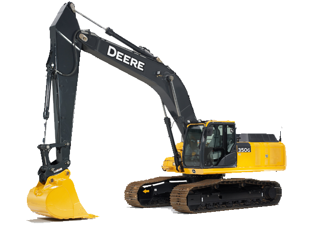 Excavator with Tier 4 Engine | 350G LC | John Deere US