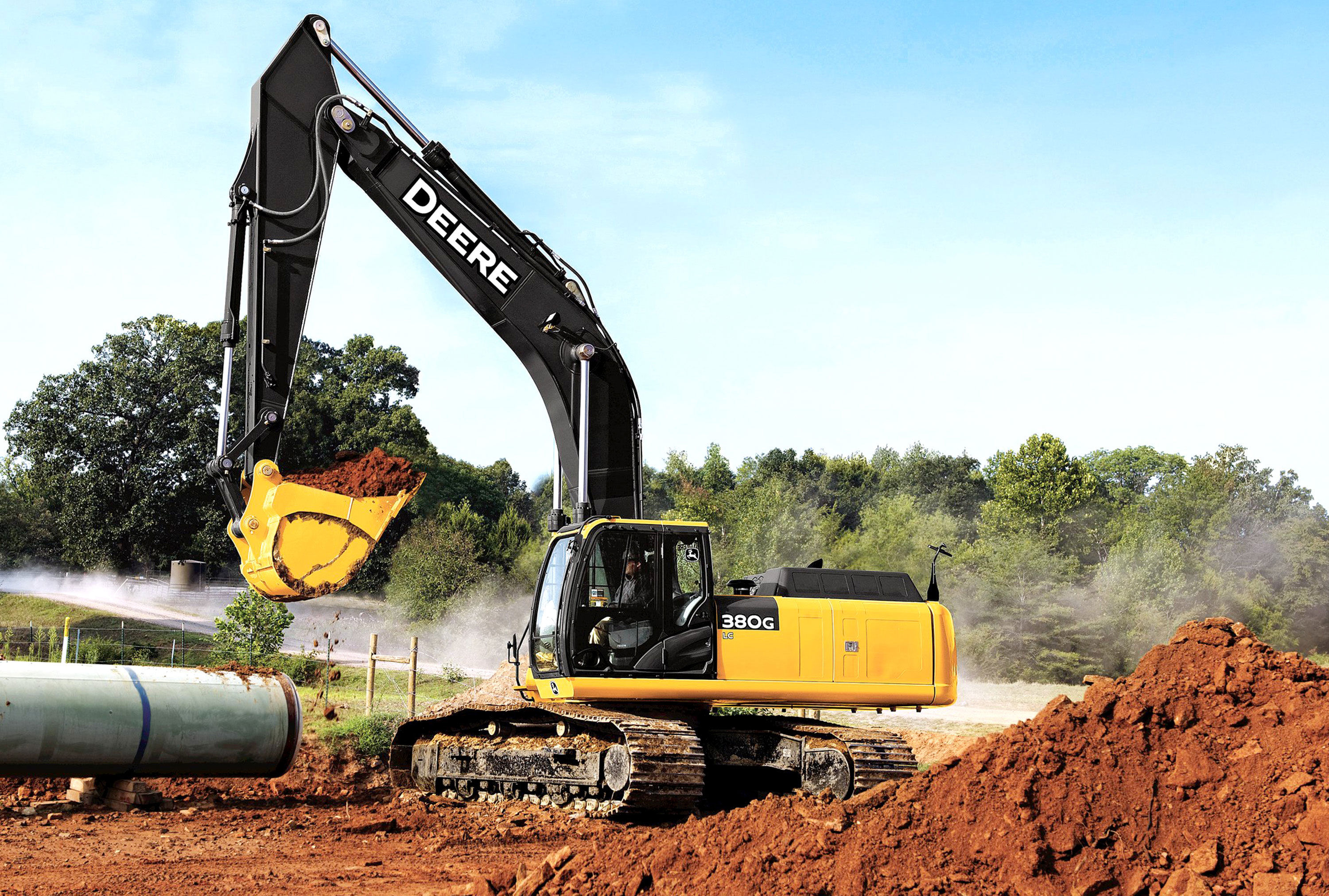 John Deere Reveals 250G LC, 350G LC, and 380G LC Final ...