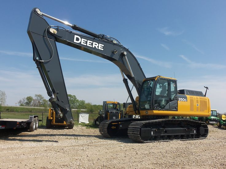 350G hydraulic excavator | John Deere equipment ...