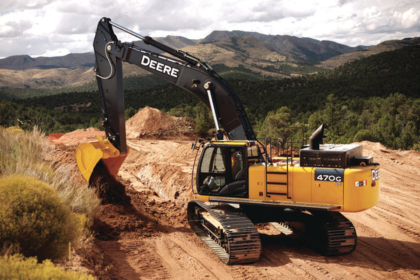 John Deere 400 Excavator submited images.