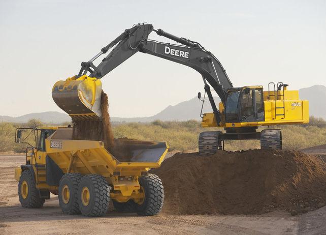 450D LC Excavator from John Deere