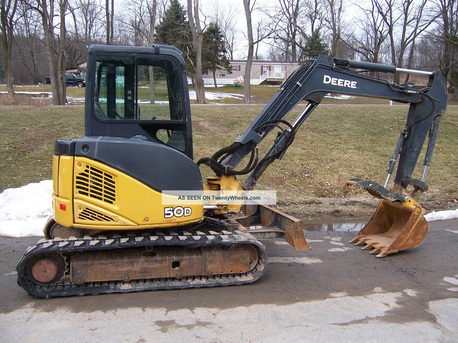 John Deere 50d Excavator