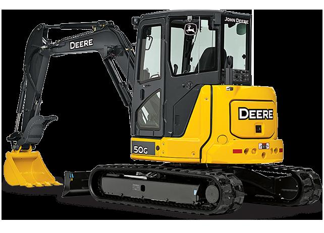2000 John Deere 50 ZTS mini excavator   Item E3315   SOLD ...