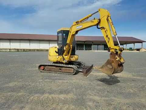 2002 John Deere 50 ZTS Mini Excavator For Sale Inspection ...