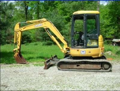 2000 John Deere 50 ZTS Mini Excavator | eBay