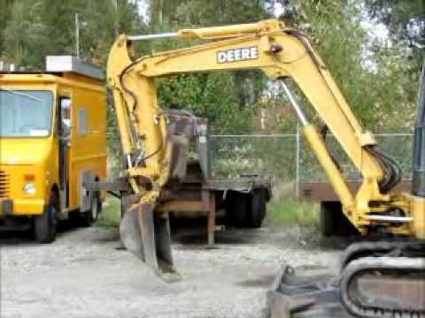 For Sale John Deere 50-ZTS Hydraulic Mini Excavator Hyd ...