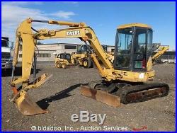2004 John Deere 50C ZTS Hydraulic Mini Excavator Rubber ...