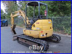John Deere 50-ZTS Hydraulic Mini Excavator Hyd Thumb 78 ...