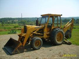Equipment Transport John Deere Backhoe 500 Series A to ...