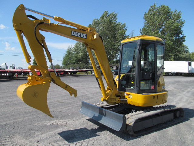 John Deere 50 Excavator submited images.