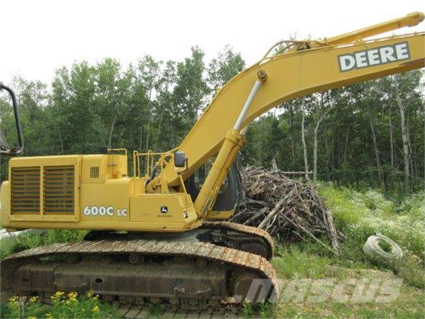 John Deere 600C LC - Crawler excavators, Price: £93,344 ...
