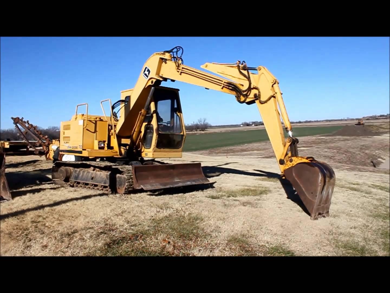 1987 John Deere 70 excavator for sale   sold at auction ...