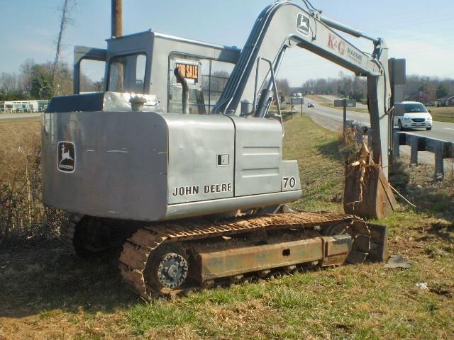 John Deere 70 Excavator