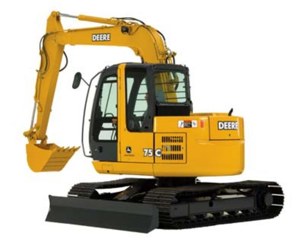 John Deere Adds to C-Series With New 75C Excavator ...