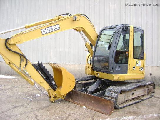 2007 John Deere 75C Excavator - John Deere MachineFinder