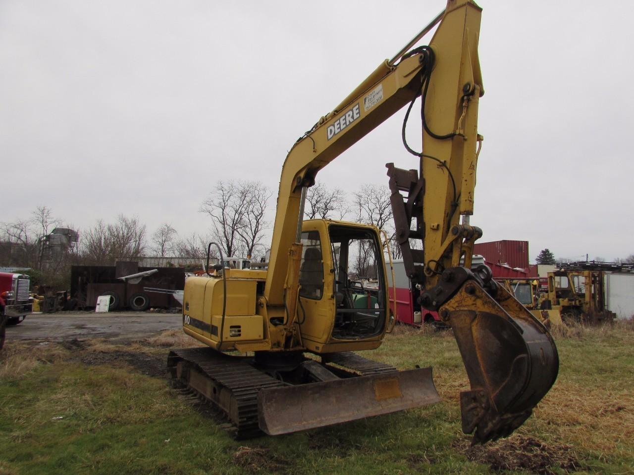 John Deere 80 Midi Excavator, Mount Pleasant PA ...