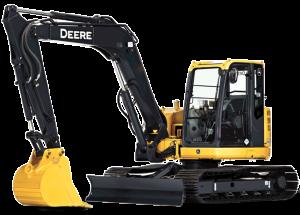Compact Excavator Rental – John Deere 80D « Equipment ...
