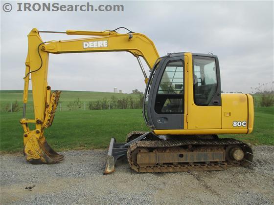 2004 John Deere 80C Excavator | IRON Search