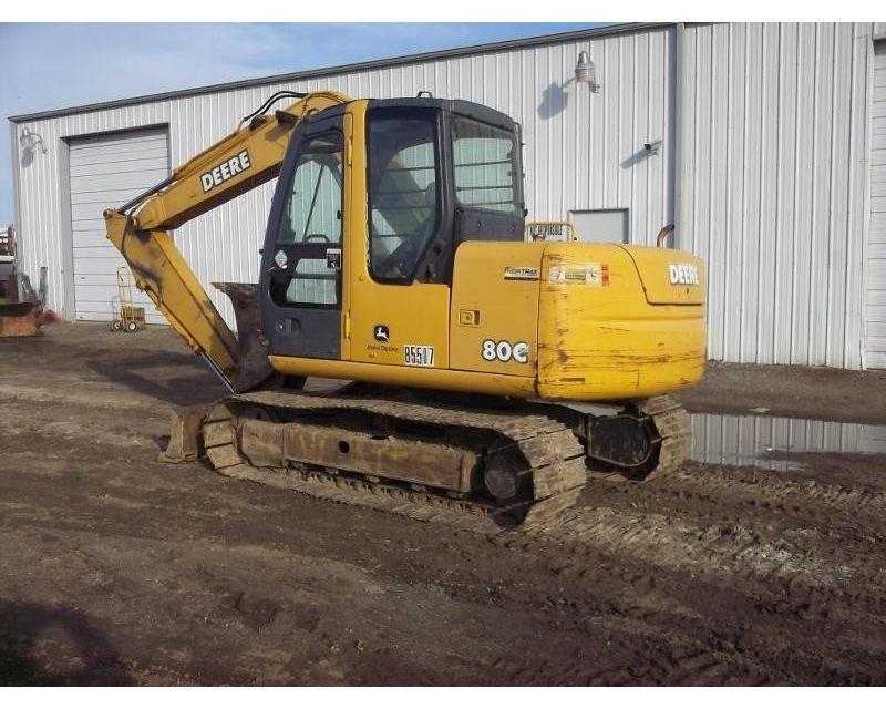 2007 John Deere 80C Excavator For Sale - Wills Point, TX ...