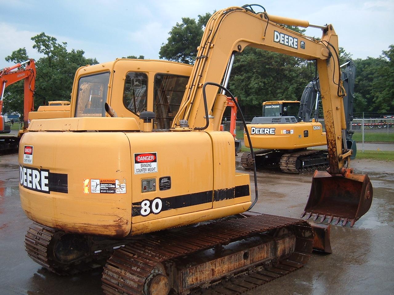 2000 John Deere 80 Excavator - John Deere MachineFinder