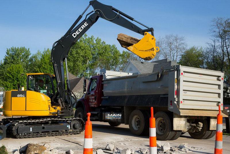 MainPump: Excavators John Deere 75G and 85G