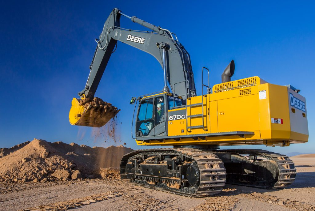 John Deere updates 670G LC excavator with improved ...