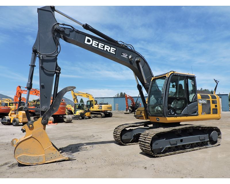 2012 John Deere 160G LC Excavator For Sale, 6,120 Hours ...