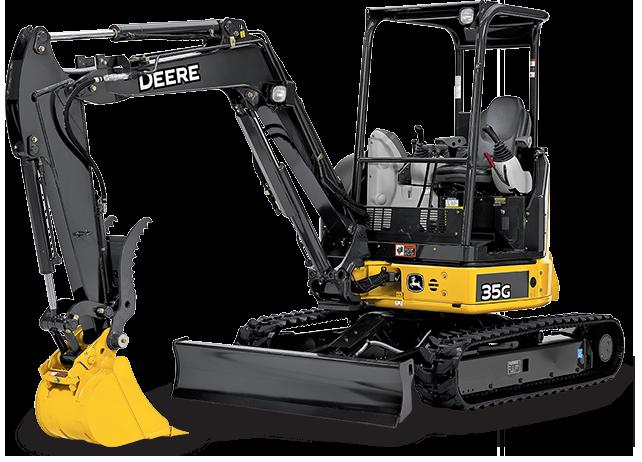 Compact Excavator | 35G | John Deere US