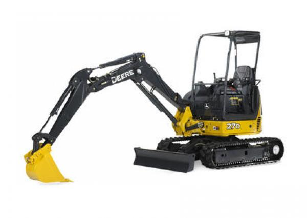 John Deere 27D Mini Excavator Rental & Rates