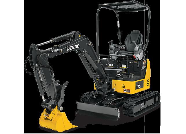 Compact Excavator | 17G | John Deere CA