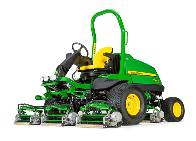 John Deere 7500A E-Cut Hybrid Fairway Mowers JohnDeere.com