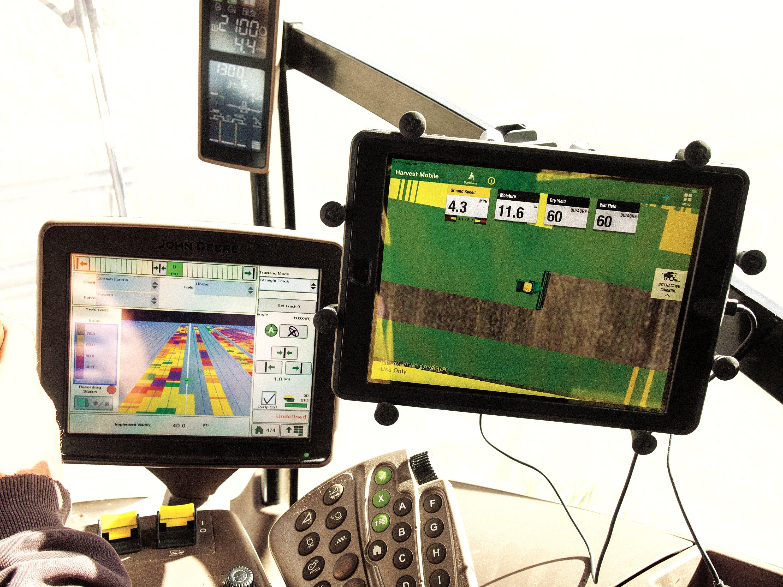 application Harvest Mobile permet la collecte et le transfert de ...