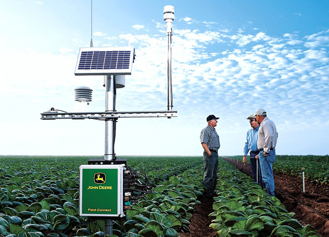 Your finger on the pulse: John Deere Field Connect