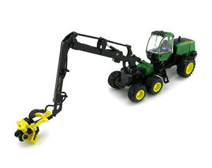 NEW John Deere 1270E Wheeled Harvester, Prestige Collection 1/50 Scale ...