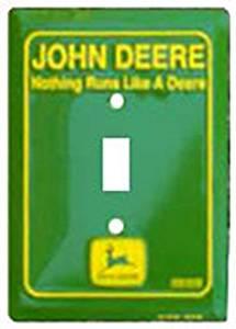 Amazon.com - John Deere Nothing Runs Switch Plate -